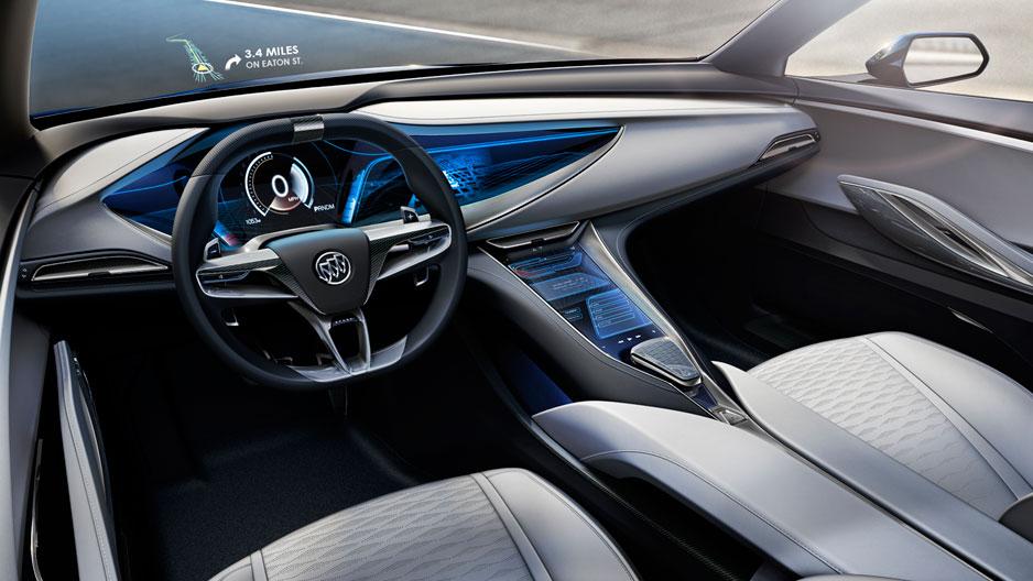 Buick Avista Concept Car At The Chicago Auto Show