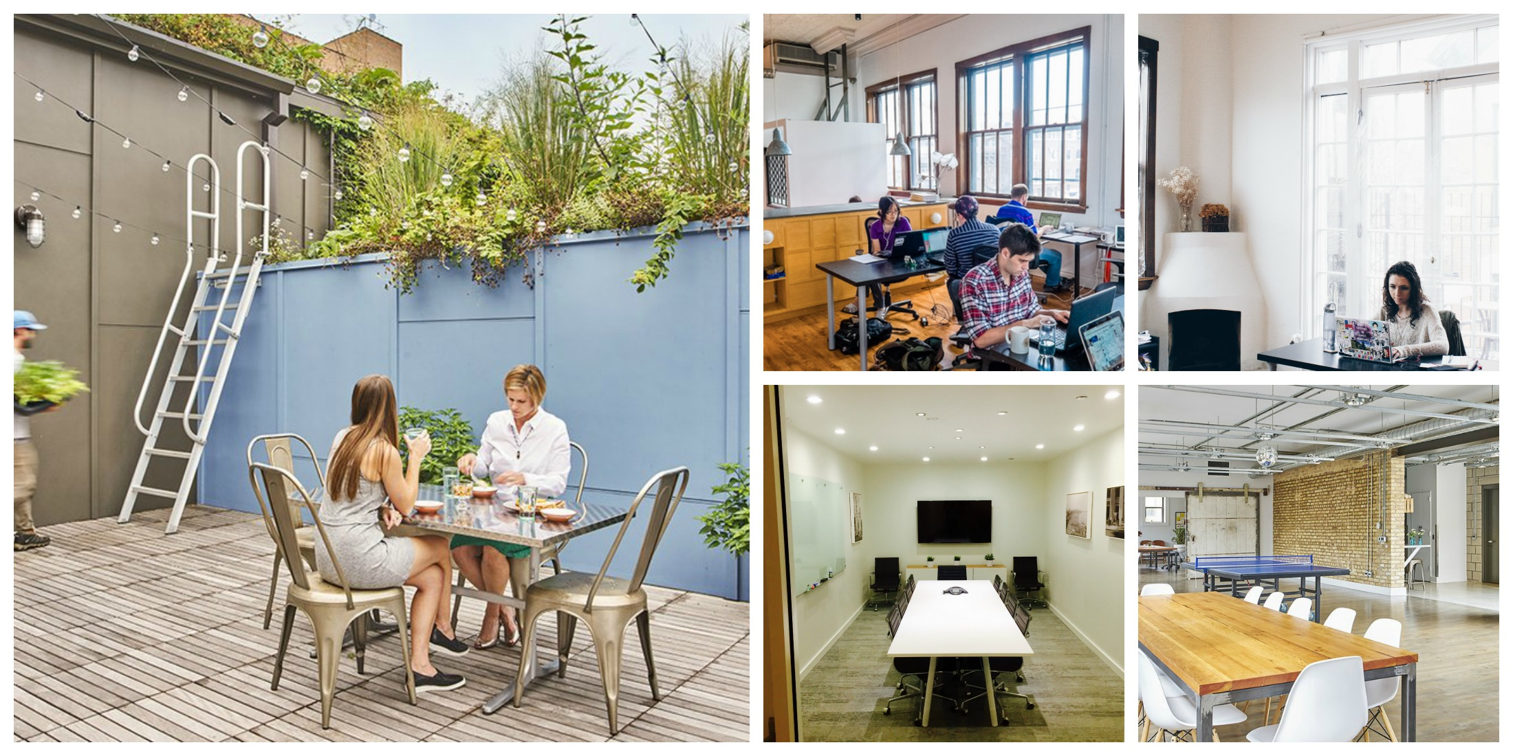 Coworking Around Chicago: An Inside Look At The Roof Crop, Officeport, U0026  Free Range